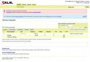 Sklik.cz - system reklamy paid search w Czechach