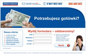 providentpl 300x190 Nabici w Provident   dozwolone czy nieetyczne pozycjonowanie serwisu w linkach sponsorowanych?
