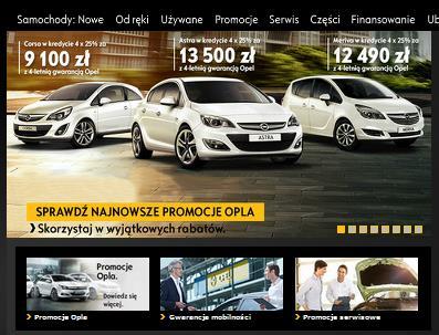 polmot opel sem firstlevel agencja Kampania Linków Sponsorowanych Google Adwords dla Opel Pol Mot