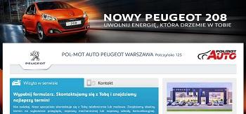 kampania adwords dla Peugeot