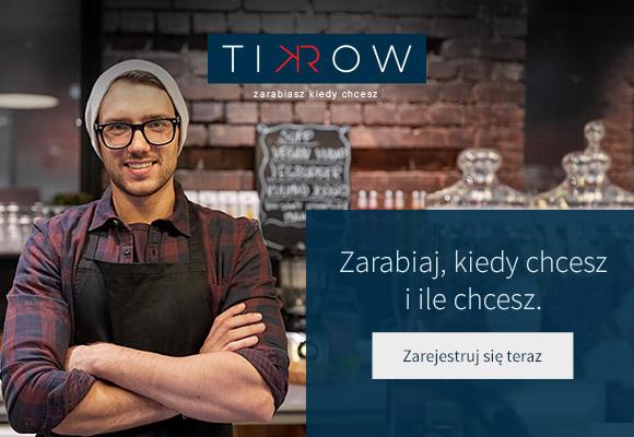 tikrow Kampania reklamowa dla agencji pracy tymczasowej Tikrow